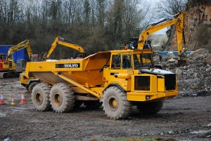 NPORS N205 Rear Tipping Dumper